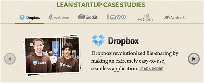 Lean Startupの成功例として公開されているDropbox