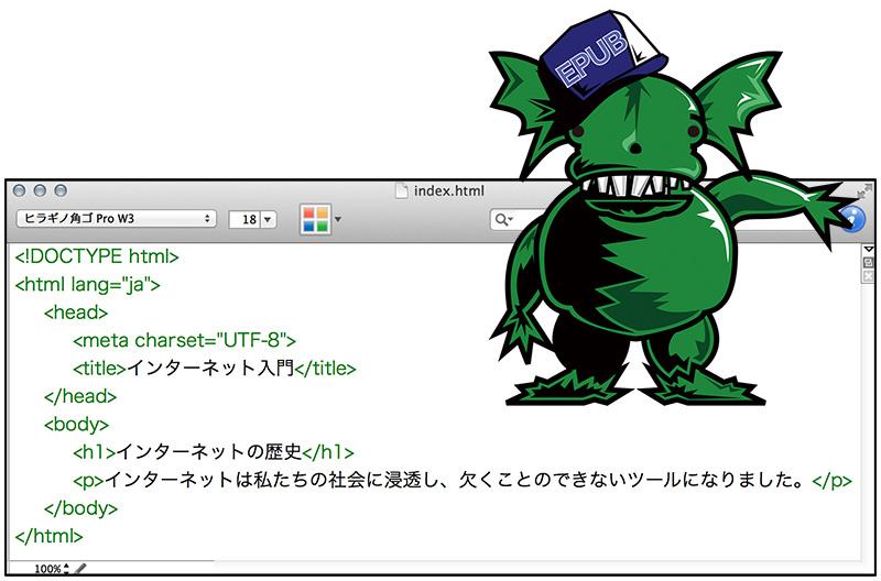 index.htmlの中身の絵