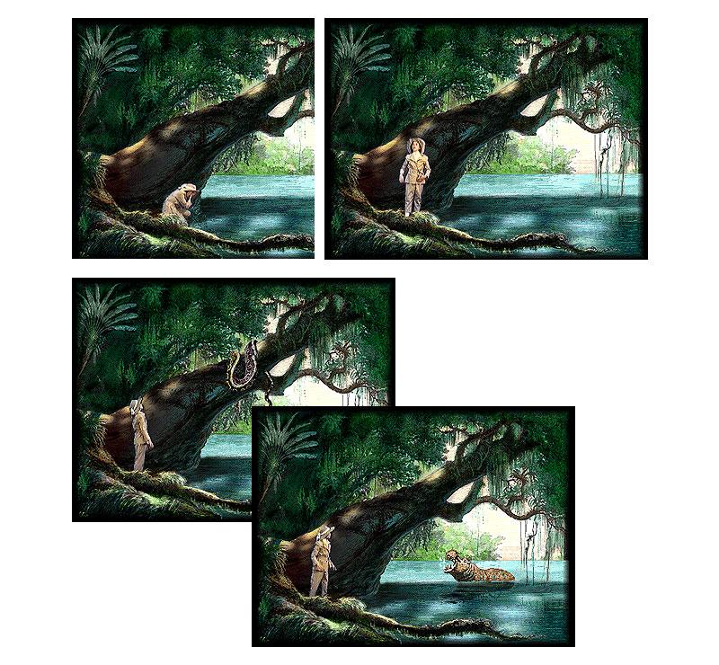 1996年に購入したCD-ROM「ルル」のスクリーンショット