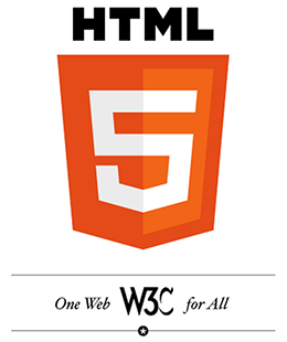HTML5 のロゴ